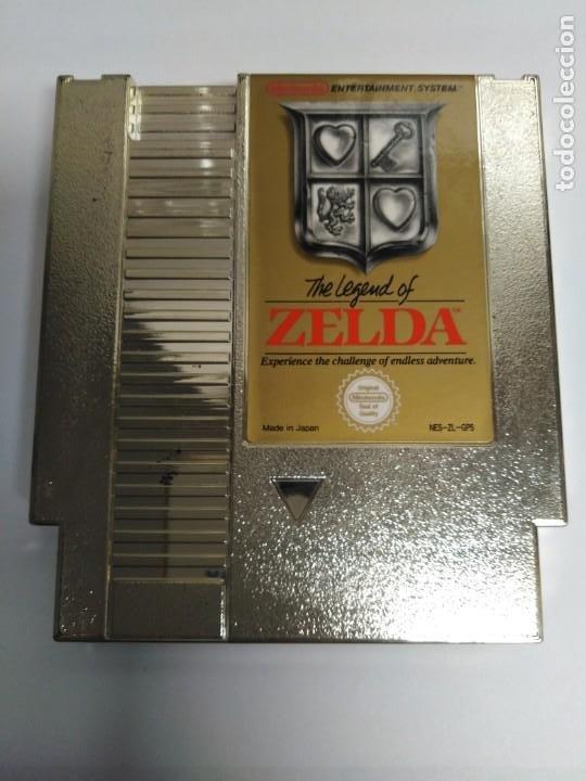 JUEGO NESS THE LEGEND OF ZELDA (Juguetes - Videojuegos y Consolas - Nintendo - Nes)