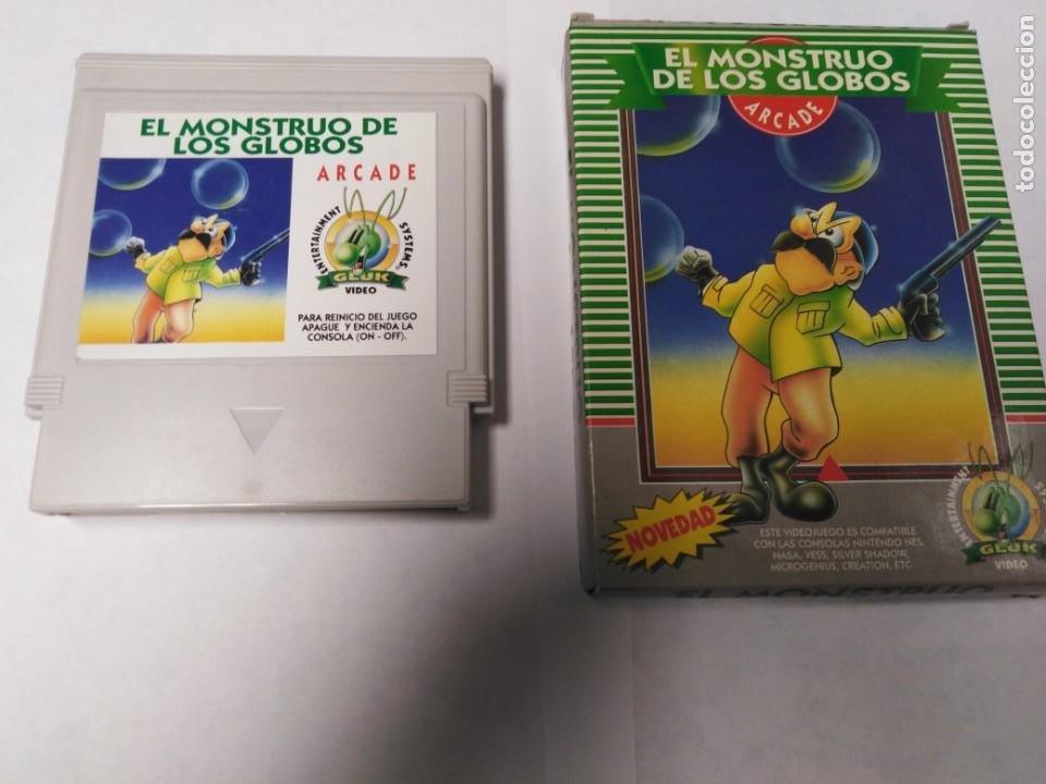 JUEGO EL MONSTRUO DE LOS GLOBOS (Juguetes - Videojuegos y Consolas - Nintendo - Nes)