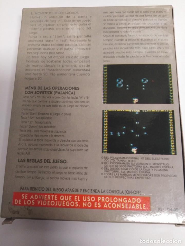 Videojuegos y Consolas: Juego El Monstruo de los Globos - Foto 5 - 199249816