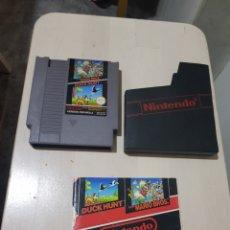 Videojuegos y Consolas: JUEGO MARIO BROS & DUCK HUNT NINTENDO NES. Lote 199378138