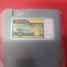 Videojuegos y Consolas: JUEGO CLONICO NINTENDO NES 4 IN 1. Lote 199447557
