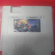 Videojuegos y Consolas: JUEGO CLONICO NINTENDO NES 4 IN 1. Lote 199447670