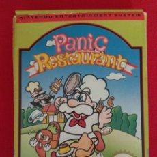 Videojogos e Consolas: NINTENDO NES - PANIC RESTAURANT - CON CAJA. Lote 200146676