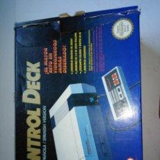 Videojuegos y Consolas: NINTENDO NES CONTROL DECK ANTIGUA CONSOLA. Lote 200726920