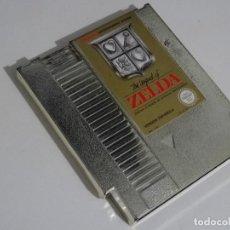 Videojuegos y Consolas: NINTENDO NES - THE LEGEND OF ZELDA VERSIÓN ESPAÑOLA ENTERTAIMENT SYSTEM. Lote 201233441