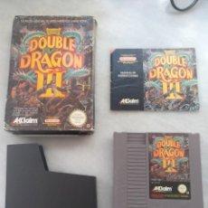 Videojuegos y Consolas: JUEGO DOUBLE DRAGÓN III. COMPLETO. NINTENDO. Lote 202798790