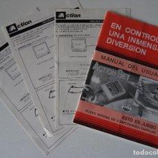 Videojuegos y Consolas: NINTENDO NES MANUAL CLÓNICO ACTION SET. Lote 202831932