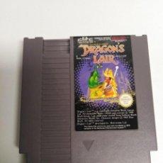 Videojuegos y Consolas: JUEGO NESS DRAGON'S LAIR. Lote 202909840