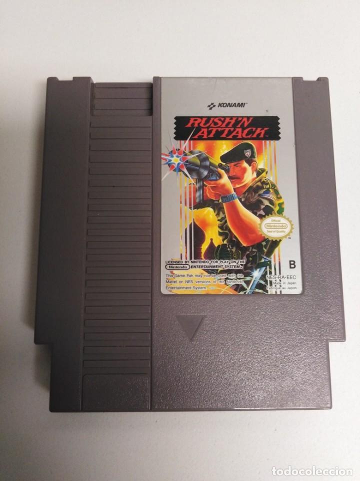 JUEGO NESS RUSH'N ATTACK (Juguetes - Videojuegos y Consolas - Nintendo - Nes)