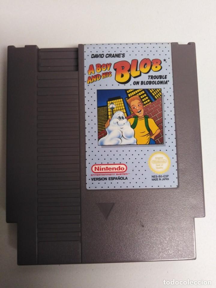 JUEGO NESS A BOY BLOB AND HIS (Juguetes - Videojuegos y Consolas - Nintendo - Nes)