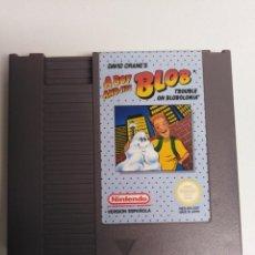 Videojuegos y Consolas: JUEGO NESS A BOY BLOB AND HIS. Lote 202910230