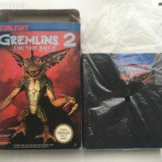 Videojogos e Consolas: GREMLINS 2 GREMLIN THE NEW BATCH THE VIDEO GAME SUNSOFT NES NINTENDO KREATEN. Lote 203082545