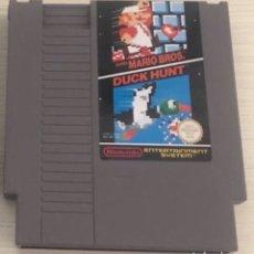 Videojuegos y Consolas: JUEGO NES SUPER MARIO BROS Y DUCK HUNT PAL A. Lote 203308998