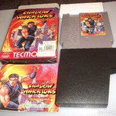 Videojuegos y Consolas: SHADOW WARRIORS NINJA GAIDEN NES COMPLETO. Lote 203333197