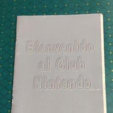 Videojuegos y Consolas: BIENVENIDO AL CLUB NINTENDO GUIA. Lote 203529477