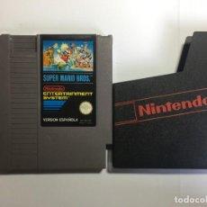 Videojuegos y Consolas: JUEGO NINTENDO NES SUPER MARIO BROS. Lote 204706648