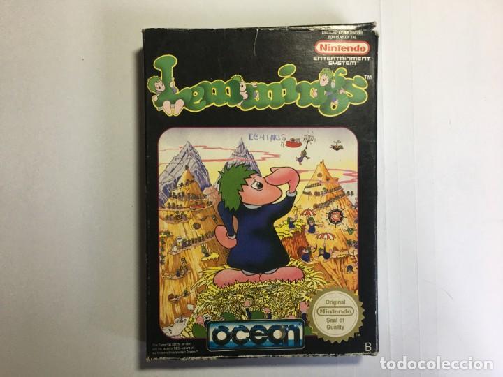 JUEGO NINTENDO NES LEMMINGS (Juguetes - Videojuegos y Consolas - Nintendo - Nes)