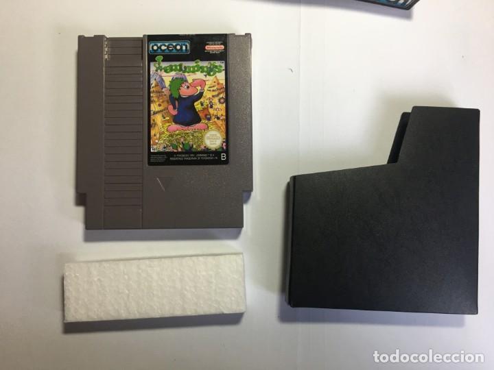 Videojuegos y Consolas: JUEGO NINTENDO NES LEMMINGS - Foto 3 - 204706943