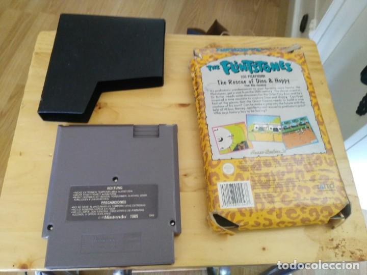Videojuegos y Consolas: Los Picapiedra The Flintstones juego para Nintendo NES PAL Con Caja y estuche-sin instrucciones - Foto 2 - 204774308