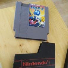 Videojuegos y Consolas: LOLO 2 JUEGO PARA NINTENDO NES PAL -CARTUCHO Y FUNDA -FUNCIONANDO. Lote 204797676