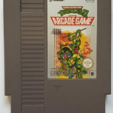 Videojuegos y Consolas: TURTLES II 2. THE ARCADE GAME . NES NINTENDO. Lote 205868742