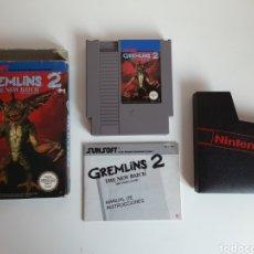 Videojuegos y Consolas: GREMLINS 2 NINTENDO NES. Lote 206184902