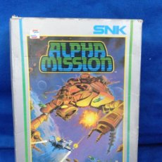 Videojuegos y Consolas: NINTENDO - ALPHA MISSION SNK NES-AM-EEC MADE IN JAPAN 1985 VER FOTOS! SM. Lote 206568830