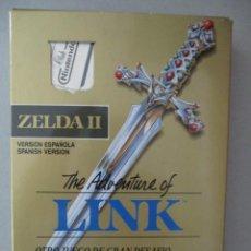 Videojuegos y Consolas: ZELDA II / THE ADVENTURE OF LINK / COMPLETO / VERSION ESPAÑOLA / NINTENDO NES. Lote 206764935