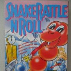 Videojuegos y Consolas: SNAKERATTLE N ROLL / COMPLETO / VERSION ESPAÑOLA / NINTENDO NES. Lote 206765662