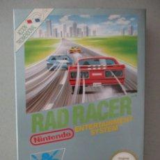 Videojuegos y Consolas: RAD RACER / VERSION ESPAÑOLA / COMPLETO NINTENDO NES. Lote 206768072