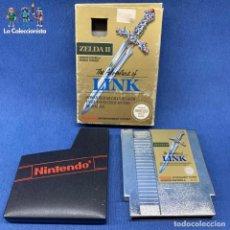 Videojuegos y Consolas: VIDEOJUEGO - ZELDA II - VERSIÓN ESPAÑOLA - NINTENDO NES - THE ADVENTURE OF LINK + CAJA. Lote 207008423
