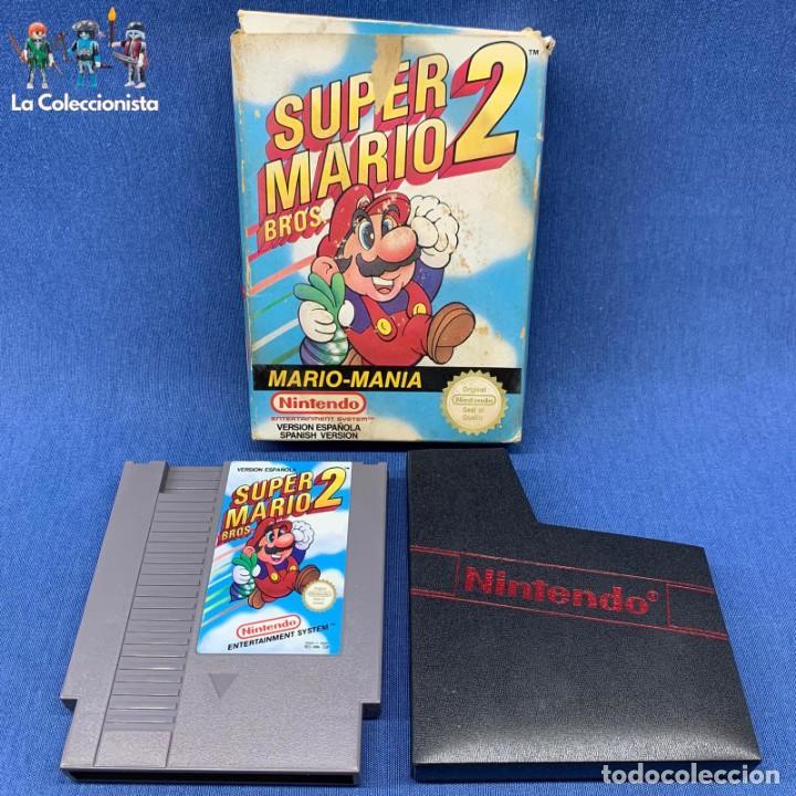 VIDEOJUEGO - NINTENDO NES - SUPER MARIO BROS 2 + CAJA (Juguetes - Videojuegos y Consolas - Nintendo - Nes)
