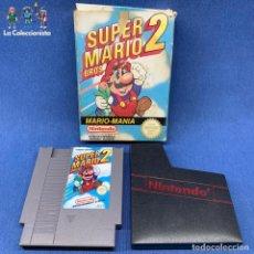 Videojuegos y Consolas: VIDEOJUEGO - NINTENDO NES - SUPER MARIO BROS 2 + CAJA. Lote 207008982