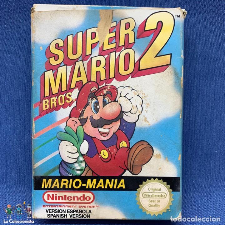Videojuegos y Consolas: VIDEOJUEGO - NINTENDO NES - SUPER MARIO BROS 2 + CAJA - Foto 2 - 207008982