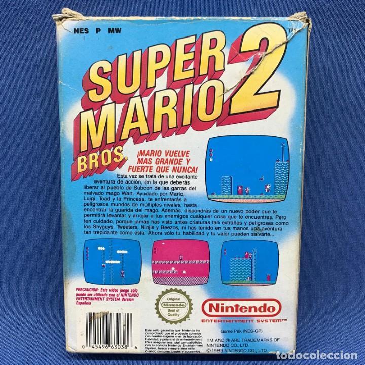 Videojuegos y Consolas: VIDEOJUEGO - NINTENDO NES - SUPER MARIO BROS 2 + CAJA - Foto 3 - 207008982