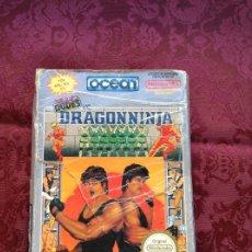 Videojuegos y Consolas: JUEGO DE NINTENDO NES COMPLETO DRAGONNINJA. Lote 207011236