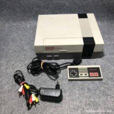 Videojuegos y Consolas: CONSOLAS NINTENDO NES ESPAÑOLA+MANDO+AV+AC. Lote 207190386