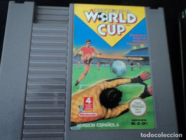 Videojuegos y Consolas: 4 juegos de nintendo,zelda, probotector, super mario y world cup - Foto 4 - 208133620