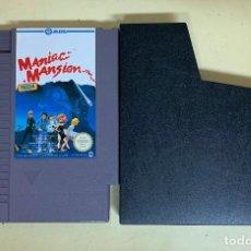 Videojuegos y Consolas: VIDEOJUEGO MANIAC MANSION - NES. Lote 208180053