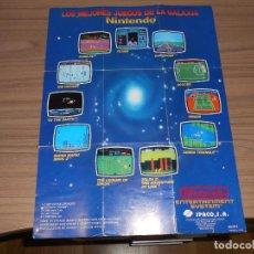 Videojuegos y Consolas: CATALOGO ORIGINAL JUEGOS NINTENDO NES. Lote 209574523