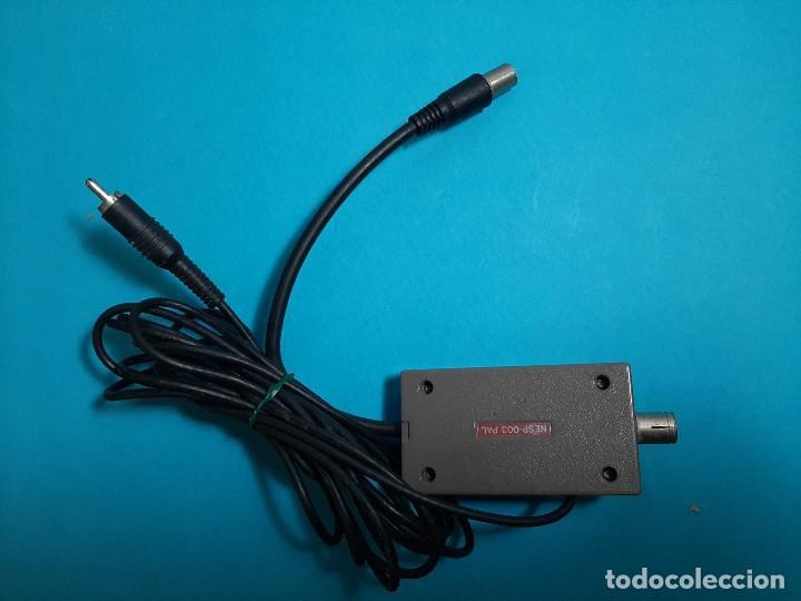 Videojuegos y Consolas: NES CONTROL DECK ( NINTENDO-CONSOLA) RF SWITCH - 003 TELEVISION ANTENA CONEXION - Foto 2 - 265711234
