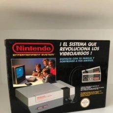 Videojuegos y Consolas: CAJA NINTENDO NES - VERSIÓN ESPAÑOLA, PERFECTO ESTADO. Lote 209894197