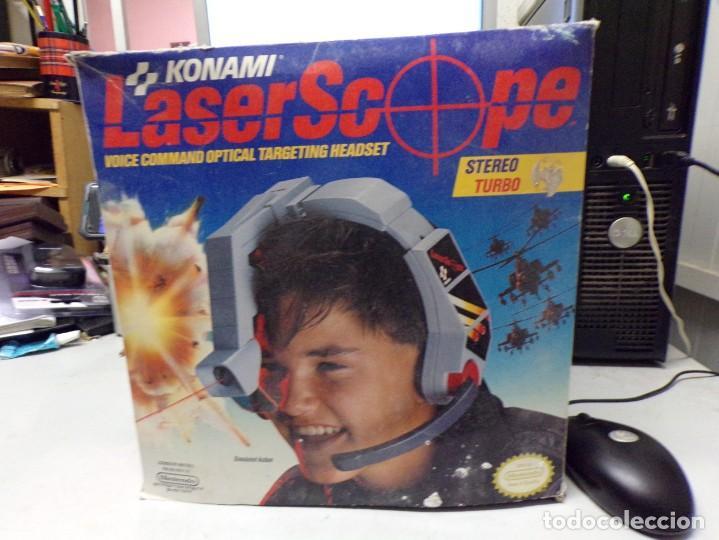 NINTENDO NES: LASER SCOPE PARA CONSOLA NEW KONAMI (Juguetes - Videojuegos y Consolas - Nintendo - Nes)