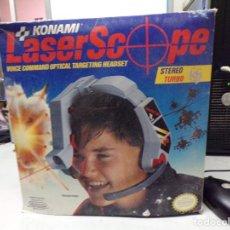 Videojuegos y Consolas: NINTENDO NES: LASER SCOPE PARA CONSOLA NEW KONAMI. Lote 221566662