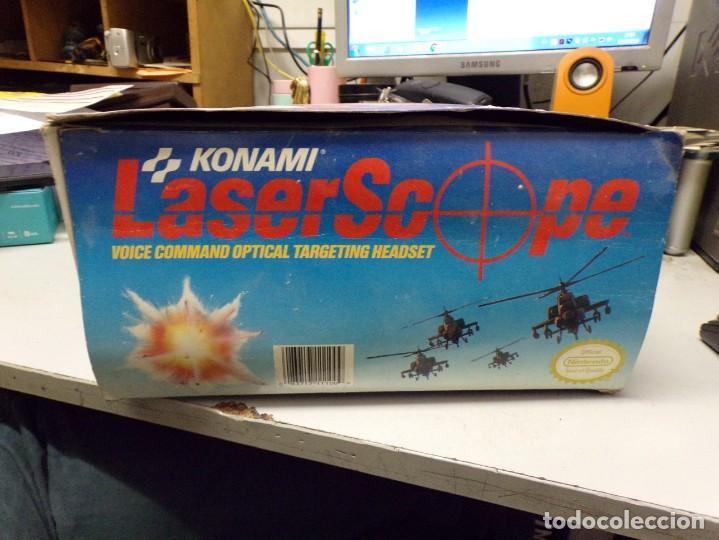 Videojuegos y Consolas: NINTENDO NES: LASER SCOPE PARA CONSOLA NEW KONAMI - Foto 2 - 210224131