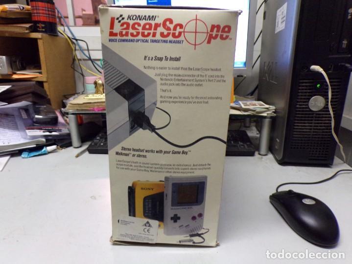 Videojuegos y Consolas: NINTENDO NES: LASER SCOPE PARA CONSOLA NEW KONAMI - Foto 3 - 210224131