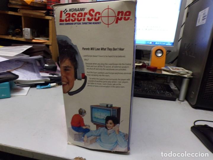 Videojuegos y Consolas: NINTENDO NES: LASER SCOPE PARA CONSOLA NEW KONAMI - Foto 4 - 210224131