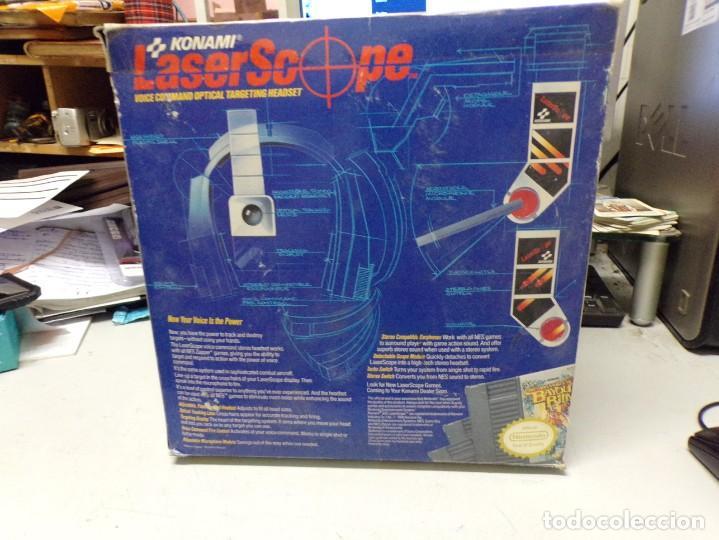 Videojuegos y Consolas: NINTENDO NES: LASER SCOPE PARA CONSOLA NEW KONAMI - Foto 5 - 210224131