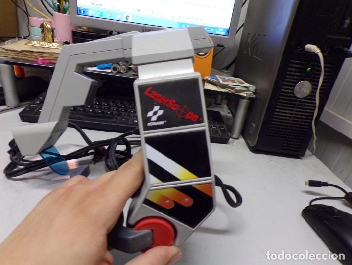 Videojuegos y Consolas: NINTENDO NES: LASER SCOPE PARA CONSOLA NEW KONAMI - Foto 9 - 210224131