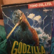 Videojogos e Consolas: GODZILLA NINTENDO NES 1992 JUEGO, CAJA Y MANUAL. Lote 210277078
